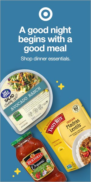 Supermarket Advertisements - Target Dinner 300x600