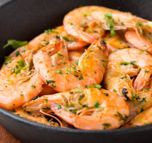 Shrimp Recipe Targeting